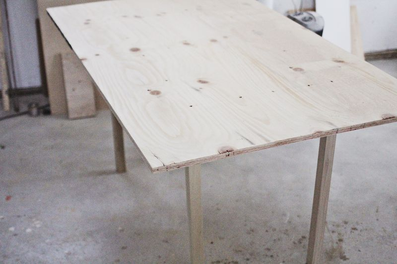 Diy dining room table for six