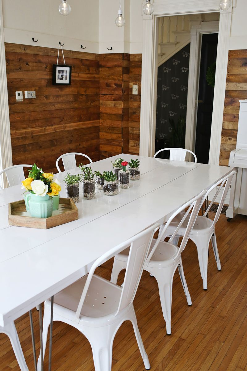 Very Beautiful And Practical Narrow Dining Table So you want to paint your table, huh?