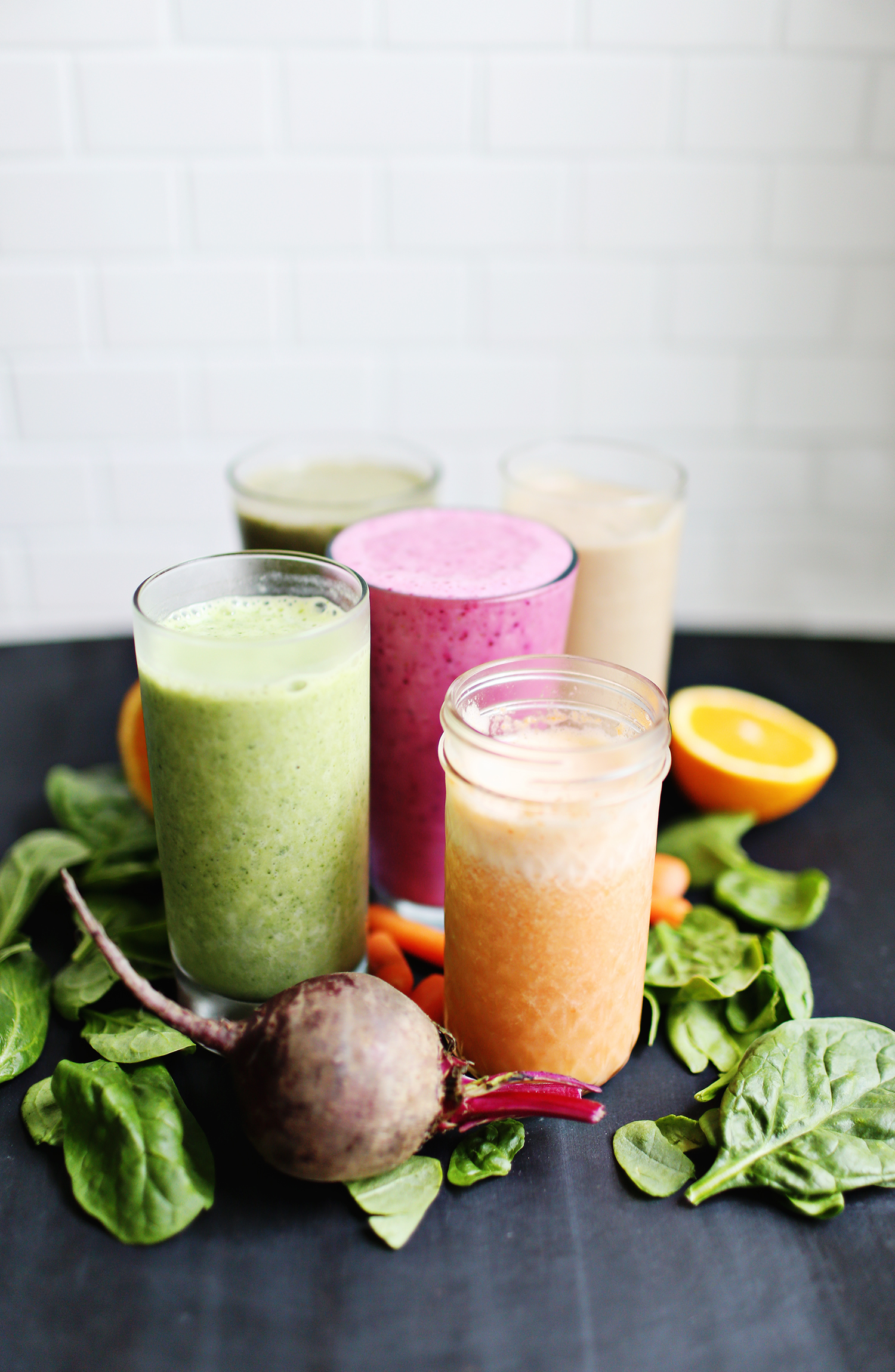 5 Veggie Based Breakfast Smoothies A Beautiful Mess