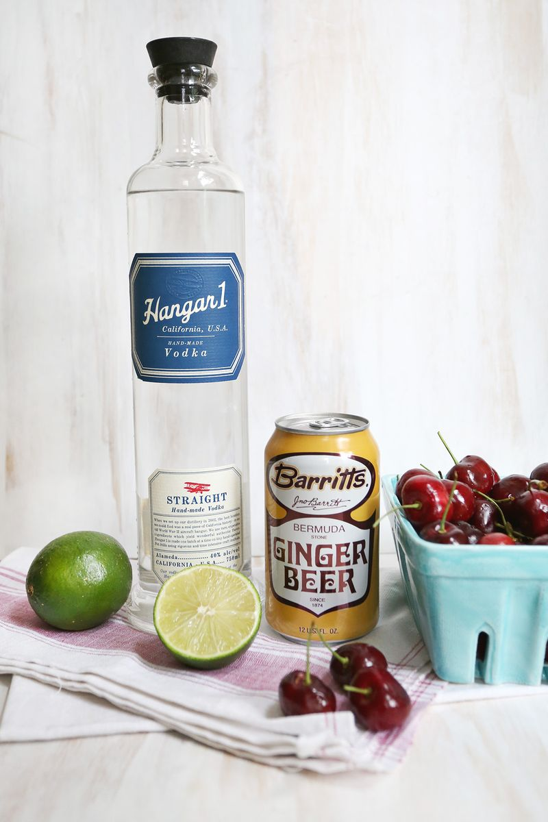 Smashed Cherry Mule recipe