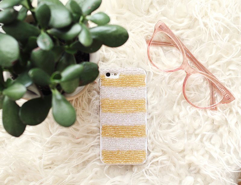Customize your iPhone case-- click through for tutorial