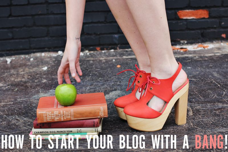 Start your blog with a bang