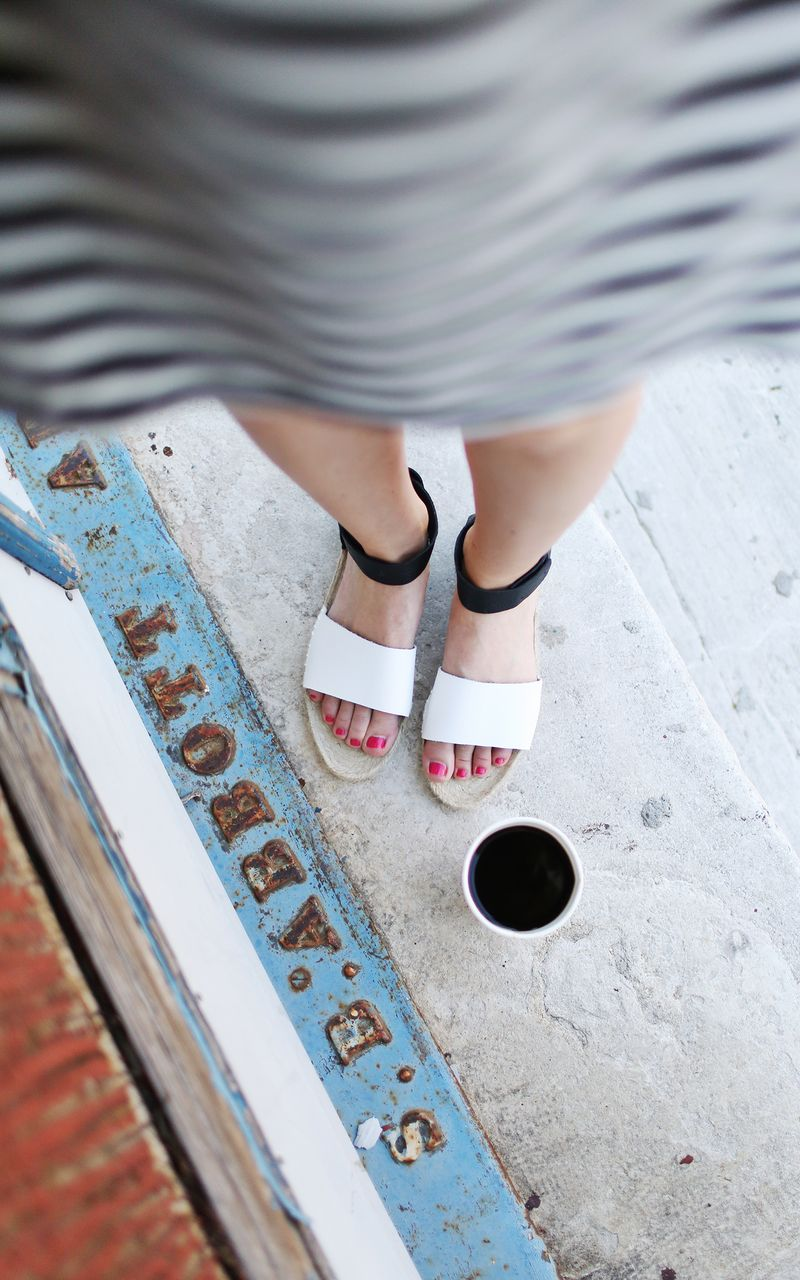 Make your own leather sandals