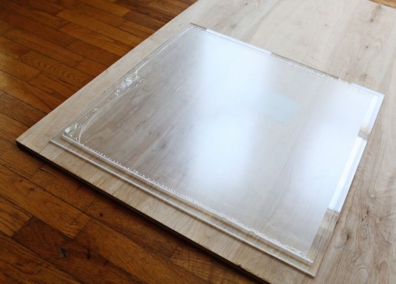 How to make the top plexi panel