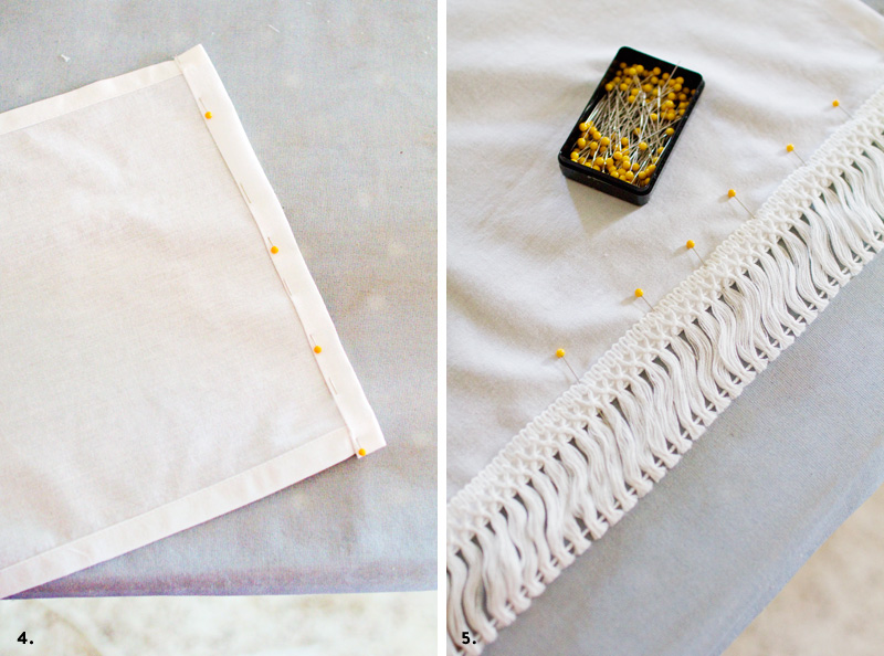 easy and inexpensive velcro bedskirt tutorial