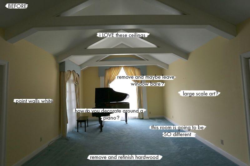 Elsie's Living Room BEFORE