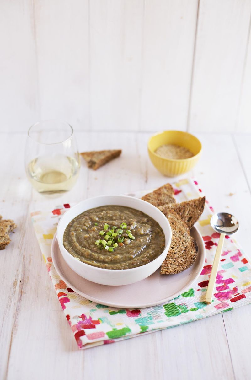 Easy split pea and lentil soup (via abeautifulmess.com)