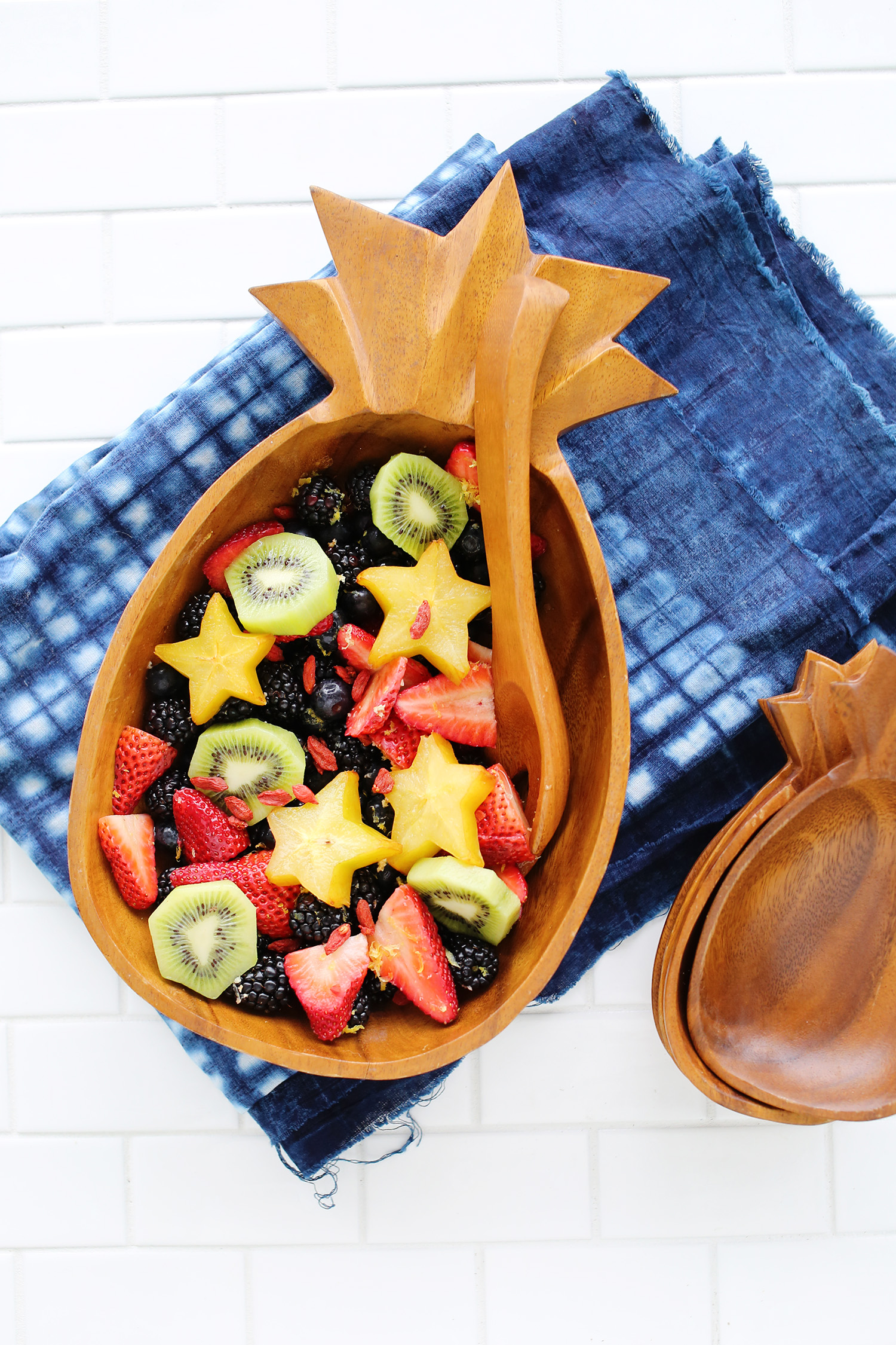 Lemon Ginger Fruit Salad