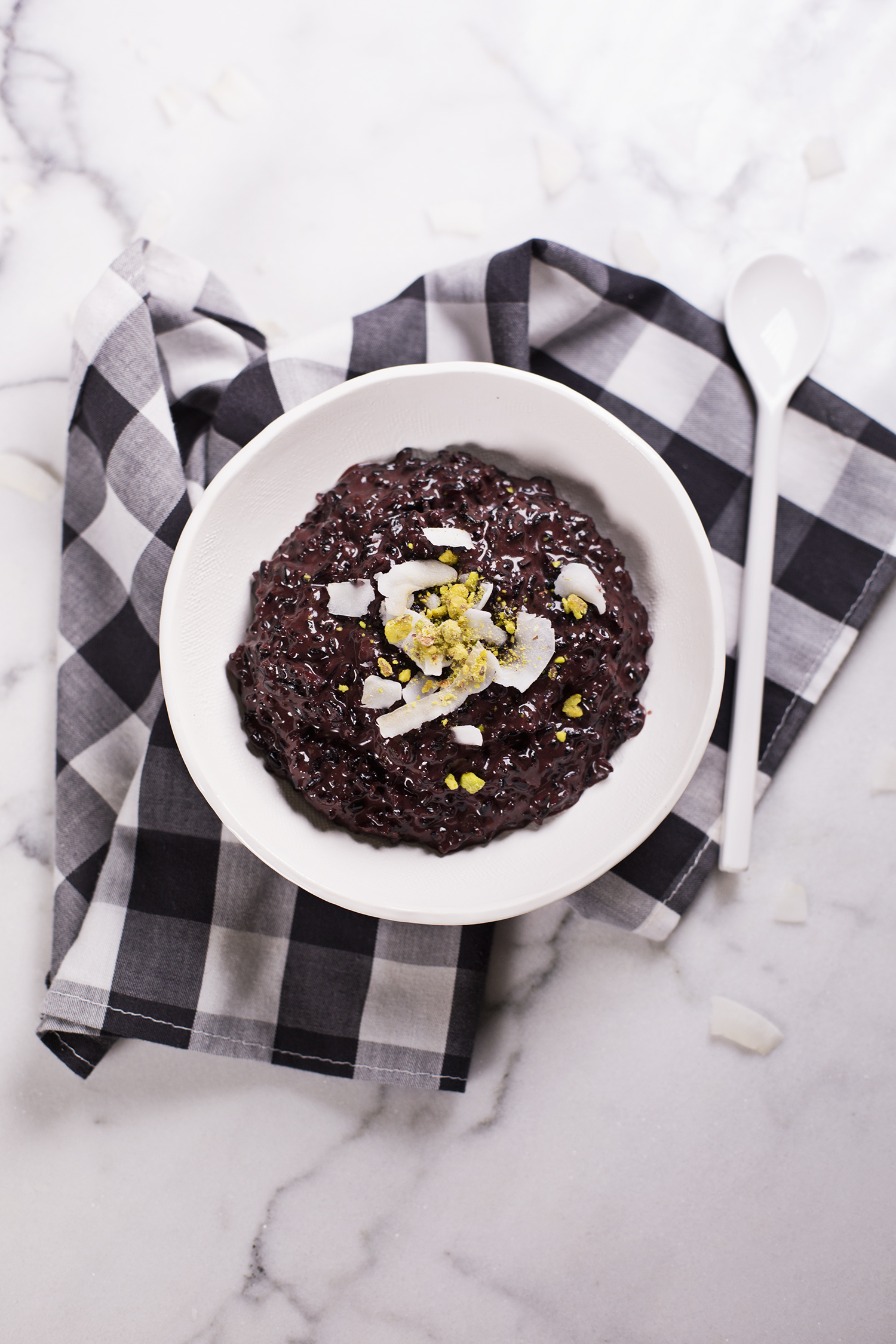 Spiced black rice pudding (via abeautifulmess.com)