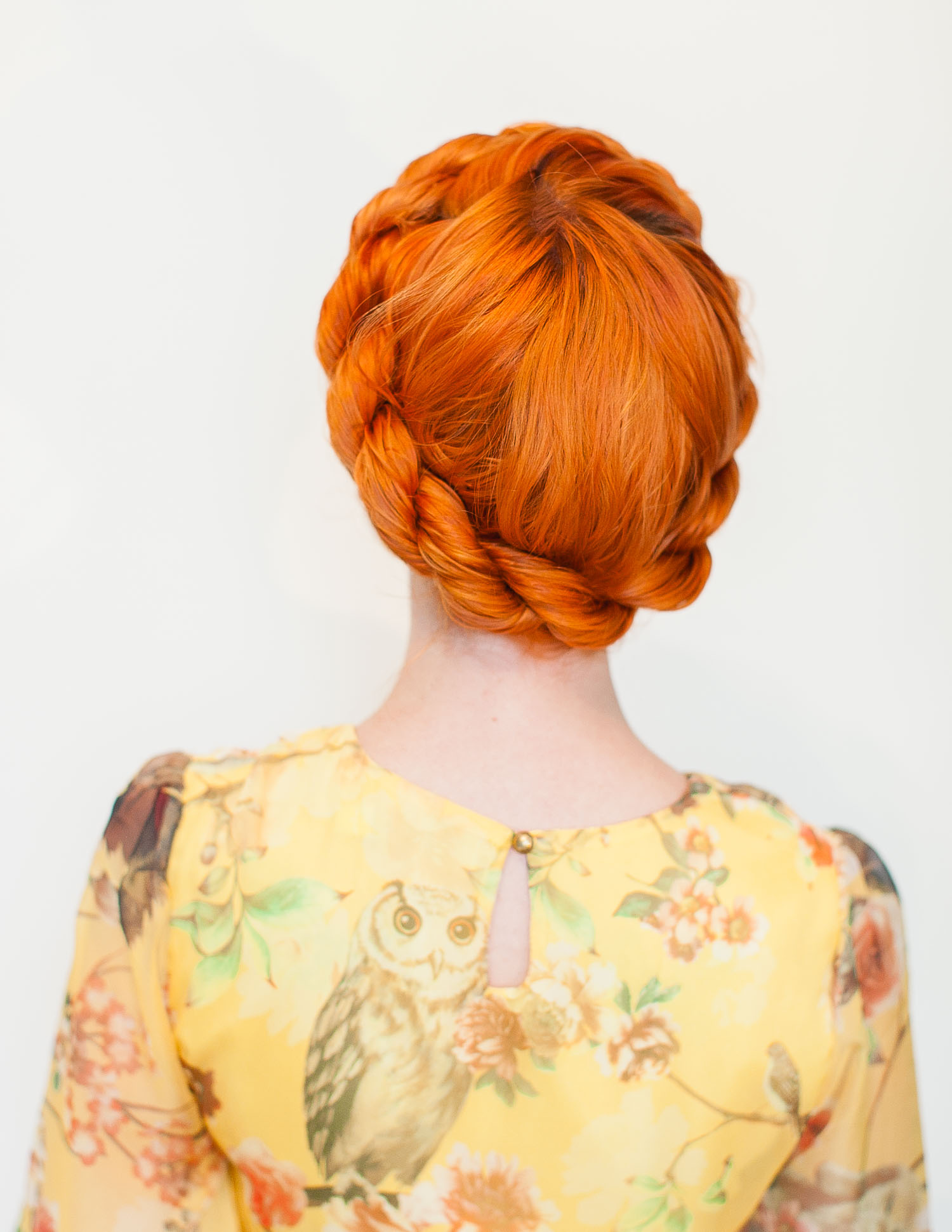 Twisted crown braid (click-through for the full tutorial)