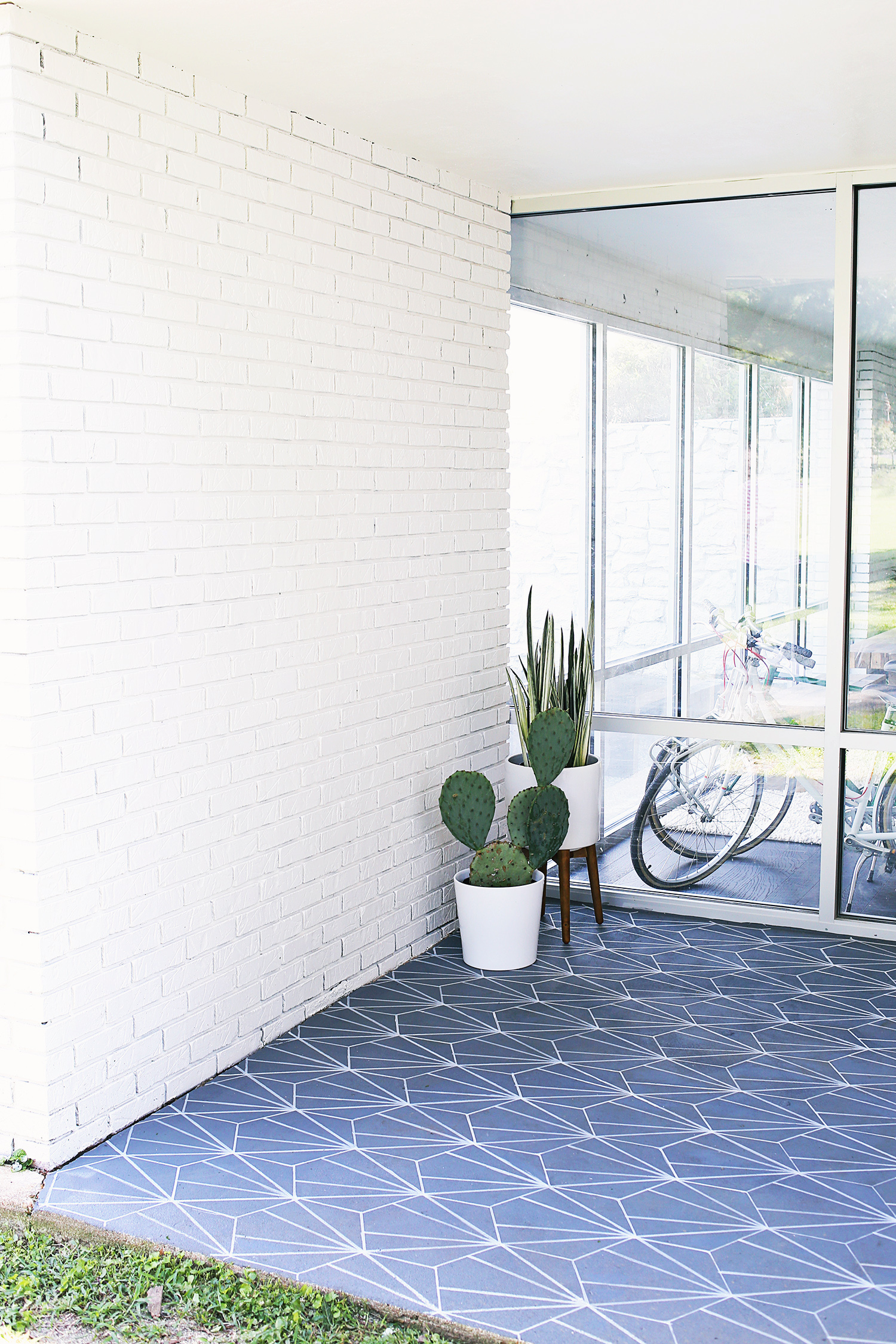 Faux Cement Tile DIY