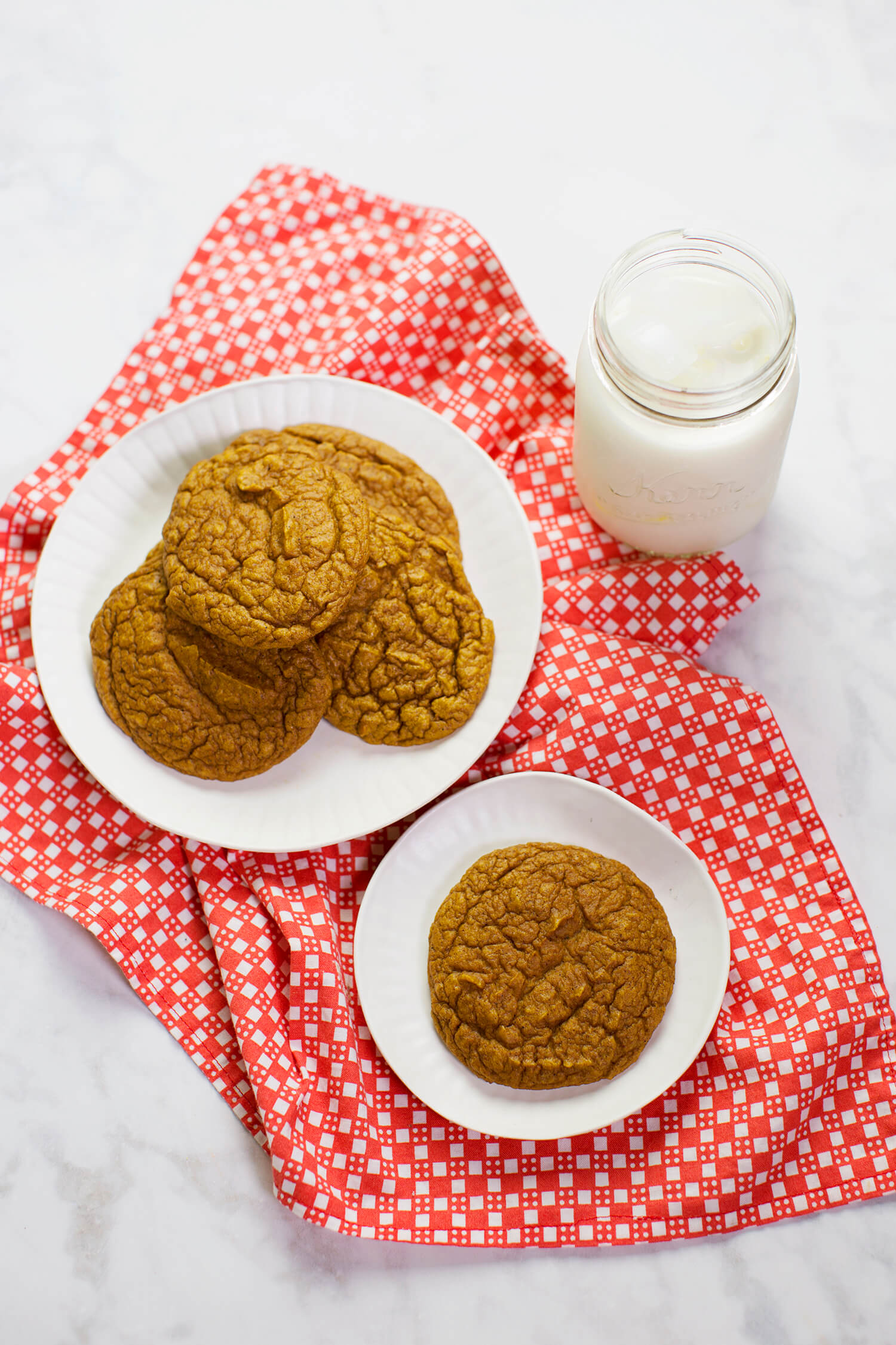 Grain-free Pumpkin Blender Cookies (via abeautifulmess.com)