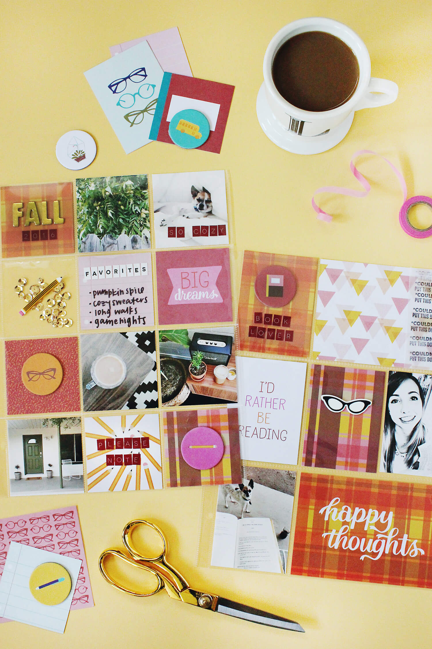 Scrapbook Sunday September Messy Box (via abeautifulmess.com)