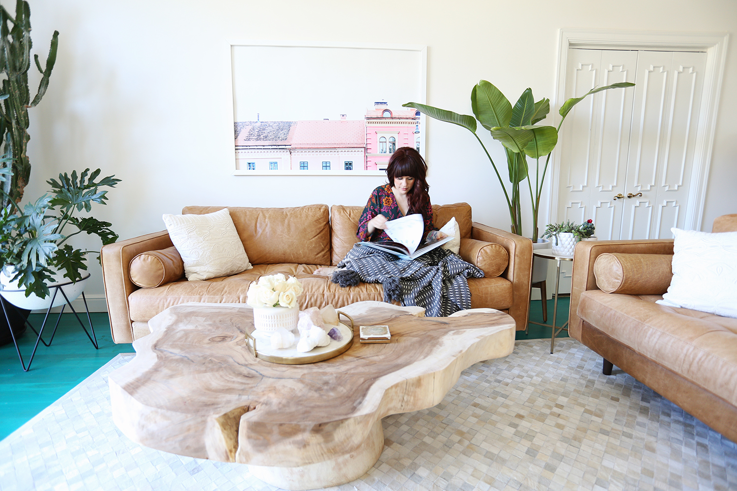 Elsie Larson's Living Room Tour