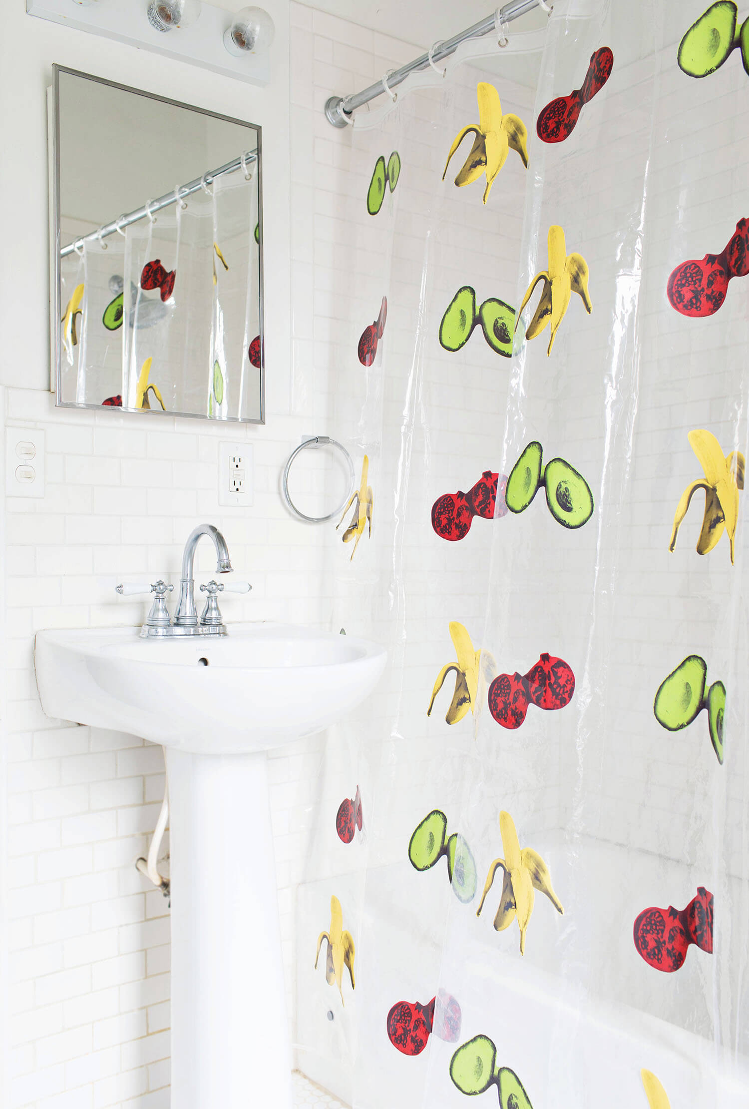 Diy Shower Curtain A Beautiful Mess