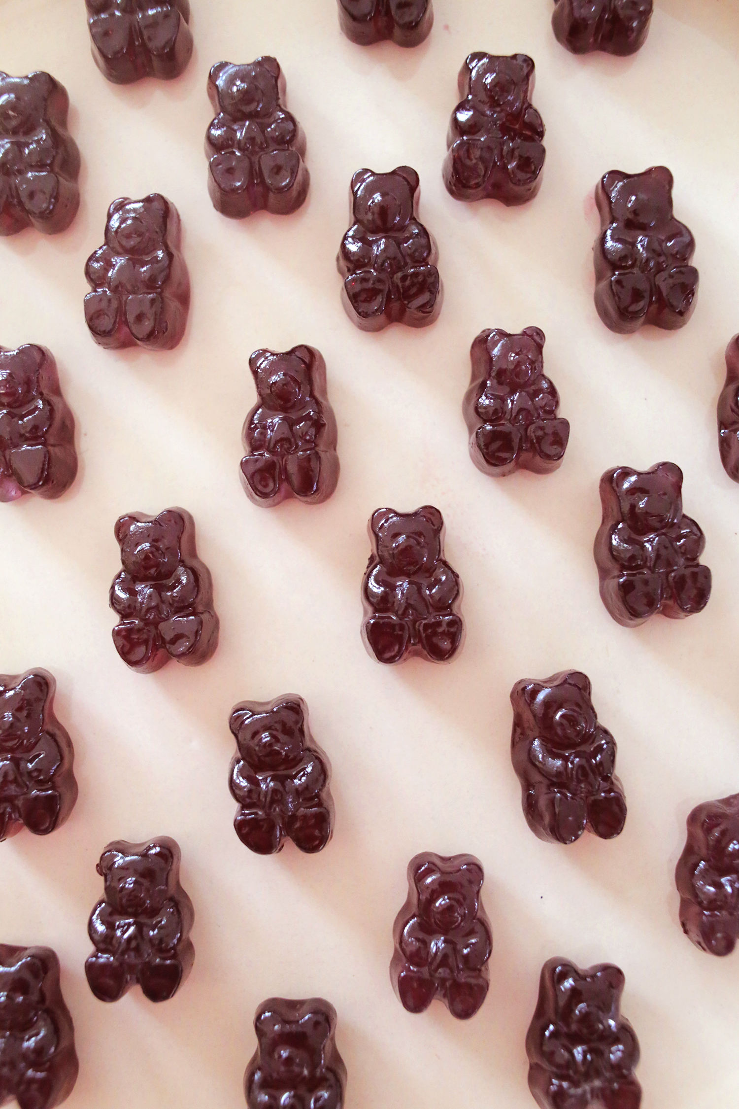 Red Wine Soaked Gummy Bears