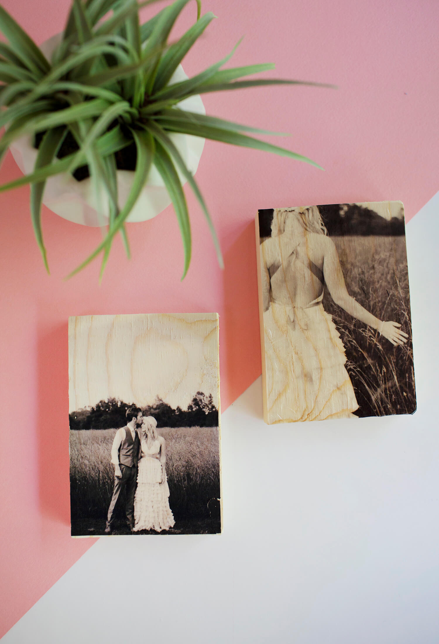 Two Methods for Making a Wood Transfer