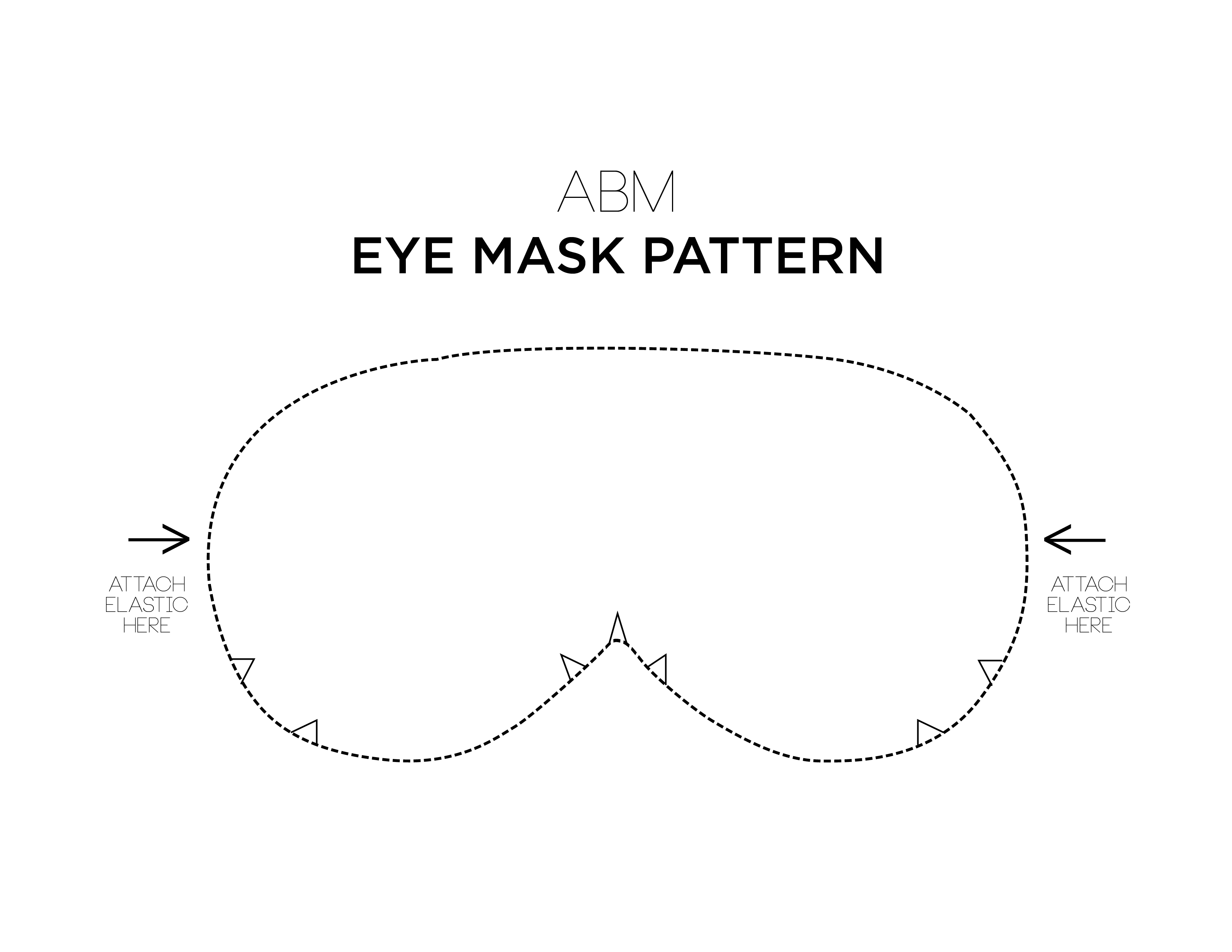 Make Your Own Eye Mask A Beautiful Mess
